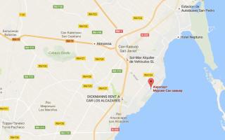 Аэропорты испании на карте испании