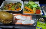 Кошерное питание аэрофлот: что входит
