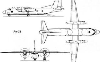Самолет ан-26: фото, технические характеристики