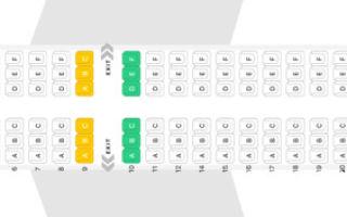 Аэробус а319 аэрофлот: схема салона, лучшие места