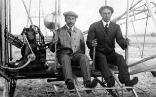 Первый самолет братьев райт