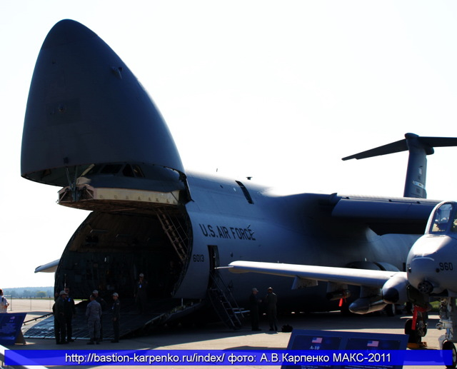 Самолет lockheed c-5 galaxy