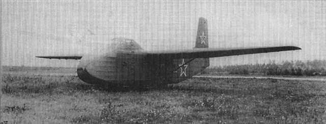 Десантный планер Як-14