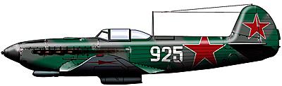 Истребитель Як-7: фото самолета