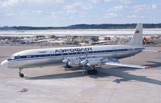 Самолет Ил-18: фото, ТТХ, история создания