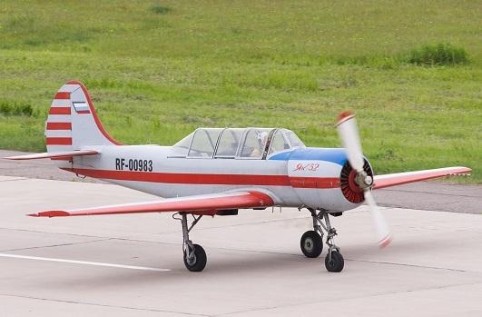 Самолет Як-52: фото