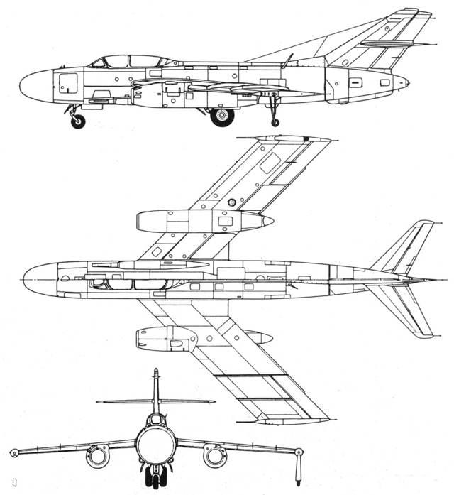 Самолет Як-25: фото