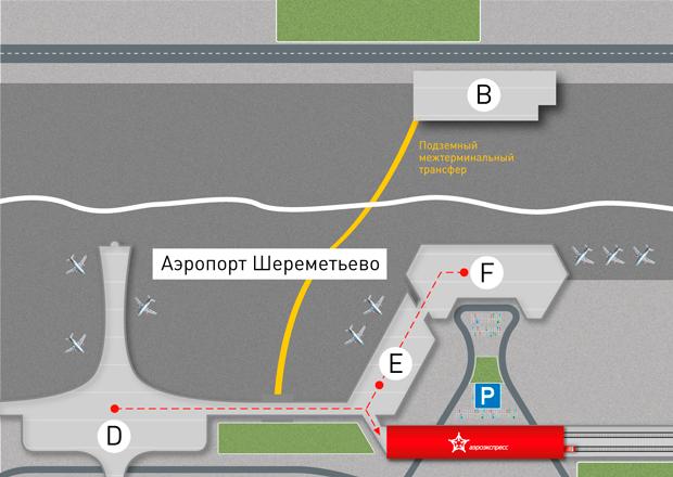 Как добраться с Белорусского вокзала до Шереметьево