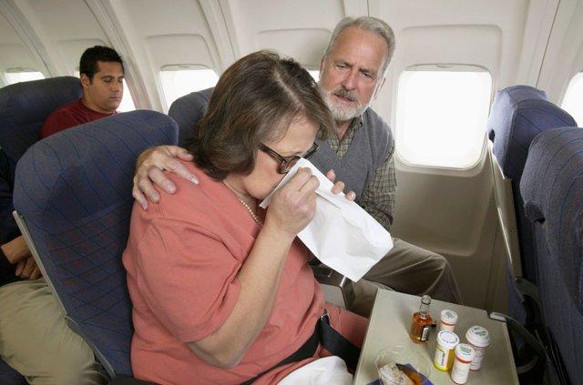 Таблетки от укачивания в самолете