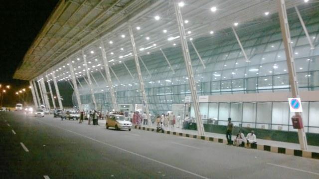 Международные аэропорты Индии на карте