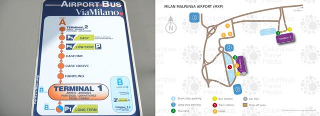 Как добраться из аэропорта Милана до Милана