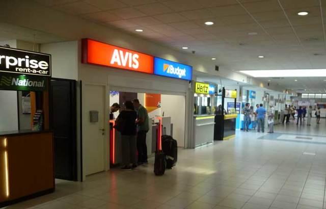 Аэропорт Родоса на карте: название