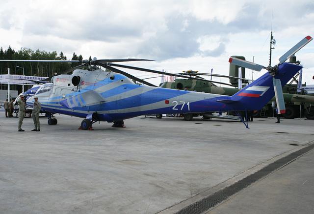 Вертолеты Миля: все модели