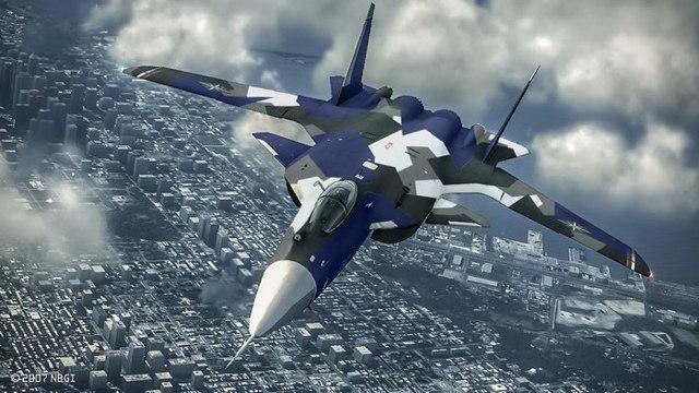 Самолет с обратной стреловидностью крыла