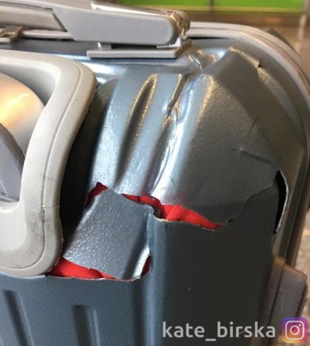 В аэропорту сломали чемодан: что делать