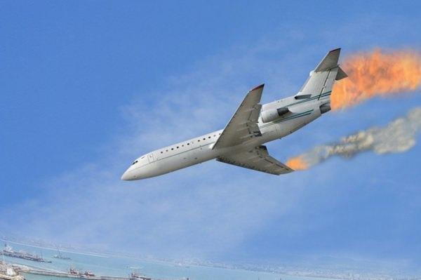 К чему снится падающий самолет с неба