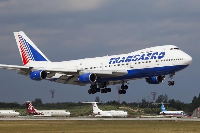 Где сейчас самолеты Трансаэро