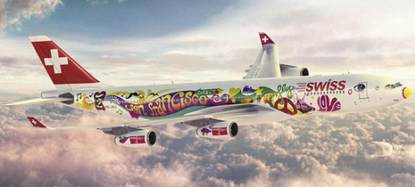 Раскраска самолетов авиакомпаний мира