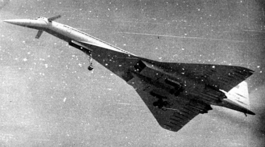 Катастрофа Ту-144 под Егорьевском
