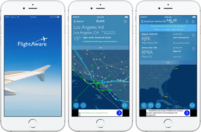 Как отследить самолет в реальном времени по номеру рейса