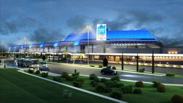 В каком городе в Абхазии аэропорт