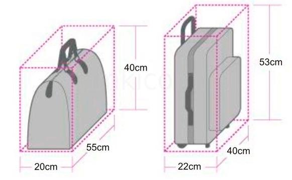 Ручная кладь Аэрофлот: размер, вес, что можно провозить