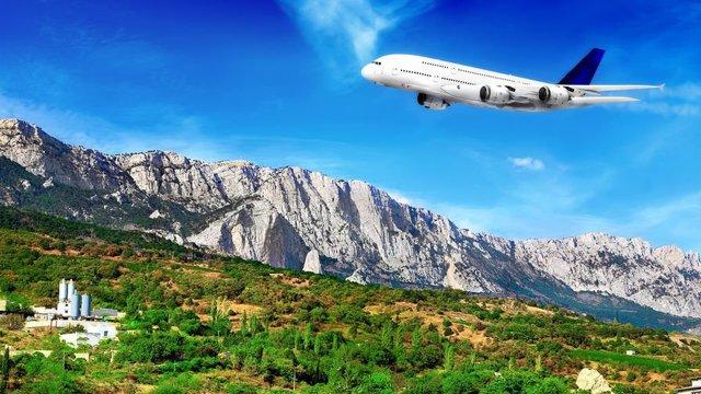 Сколько лететь до Крыма из Москвы на самолете