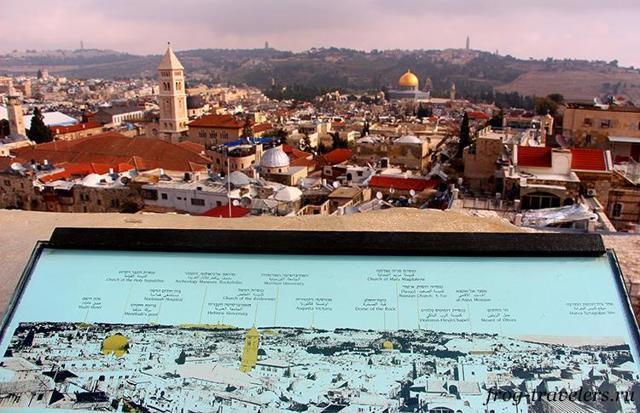 Как добраться из аэропорта Тель-Авива в Иерусалим