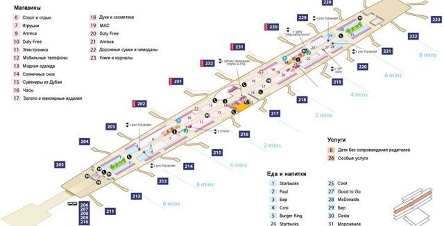 Аэропорт Дубай: онлайн табло вылета и прилета на сегодня