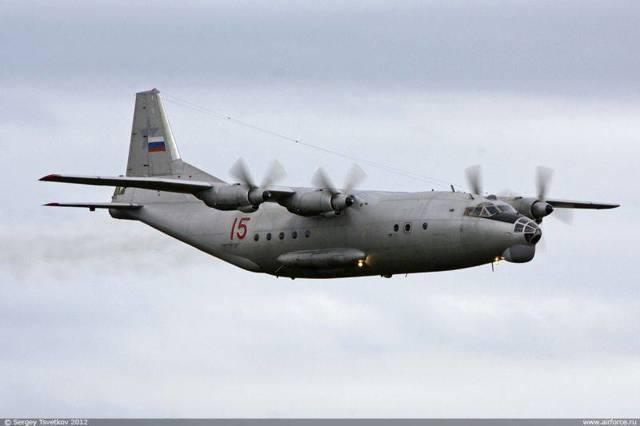 Самолет Ан-12: фото, технические характеристики