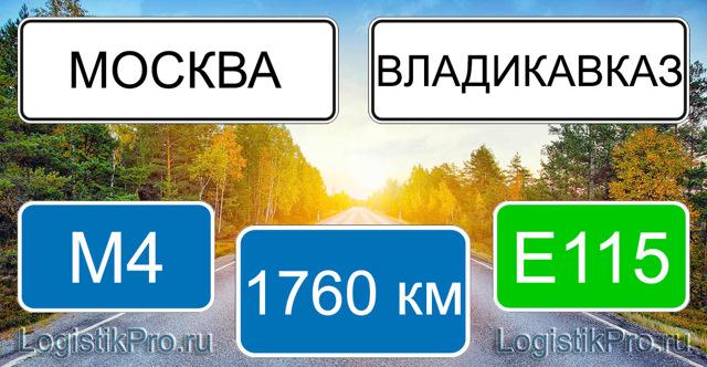 Сколько лететь до Владикавказа из Москвы