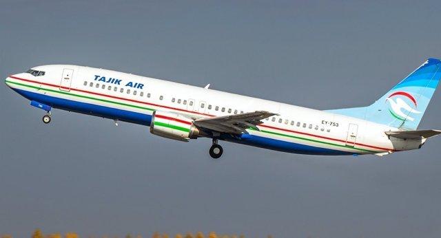 tajik air (Таджик Эйр): официальный сайт