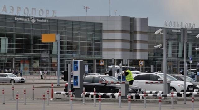 Схема аэропорта Кольцово в Екатеринбурге