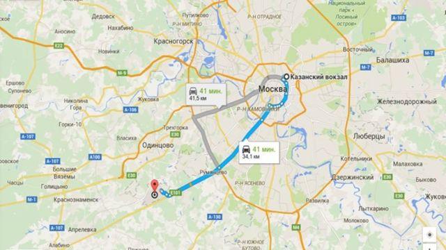 Как добраться до Внуково с Казанского вокзала