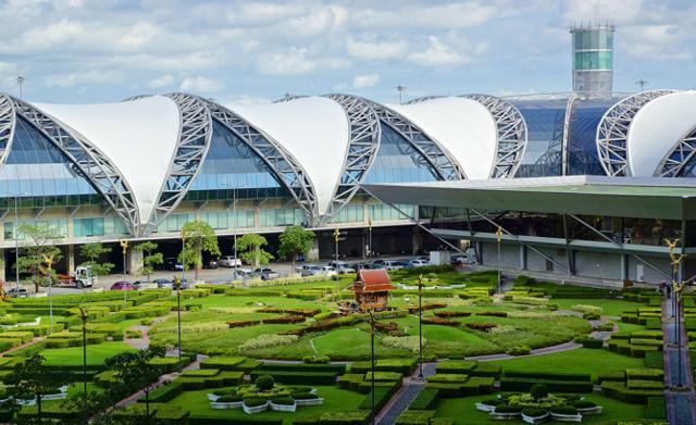Международные аэропорты Таиланда на карте