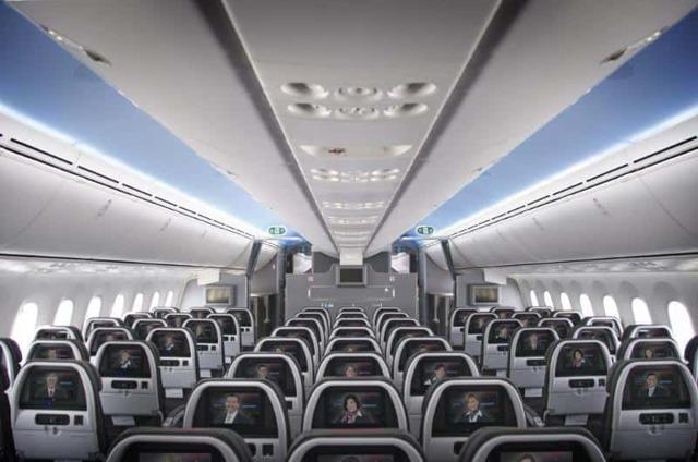 Боинг 787-800: схема салона, фото