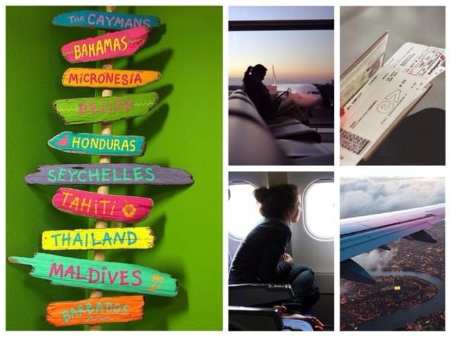 В чем лететь в самолете