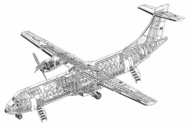 Самолет atr 42-500: фото, схема салона