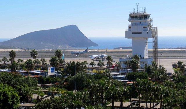Аэропорты Тенерифе на карте: название