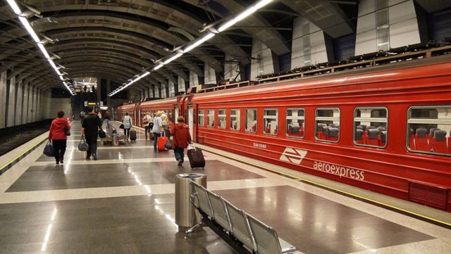 Как добраться с Белорусского вокзала до Внуково