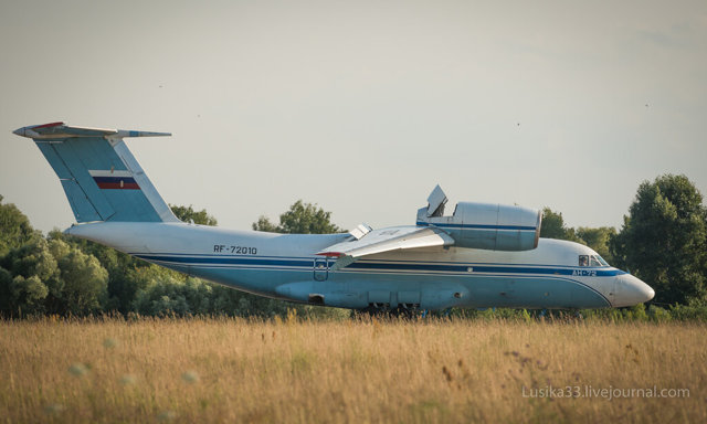 Самолет Ан-72: фото, технические характеристики