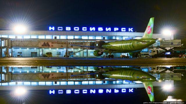 Как добраться до аэропорта в Новосибирске от жд вокзала