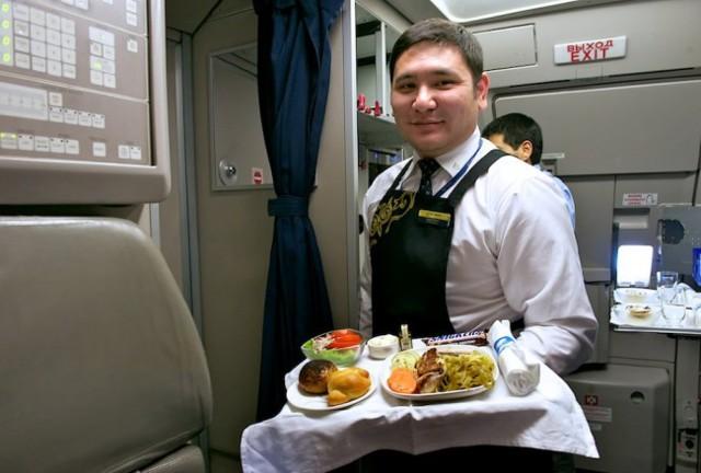 Еда в самолете эконом класса