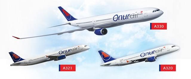 Авиакомпания Онур Эйр официальный сайт