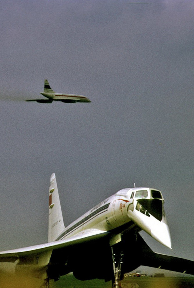 Катастрофа Ту-144 в Ле-Бурже: видео