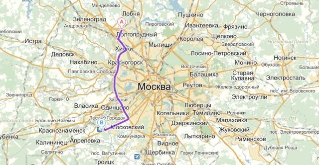 Как добраться из Внуково в Шереметьево