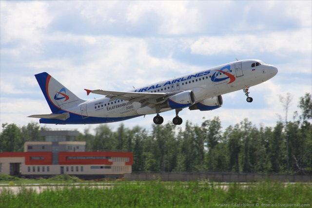 Парк самолетов Уральских авиалиний