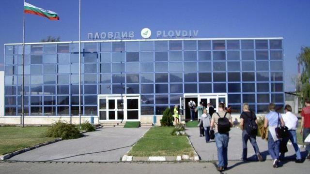 Международные аэропорты Болгарии на карте