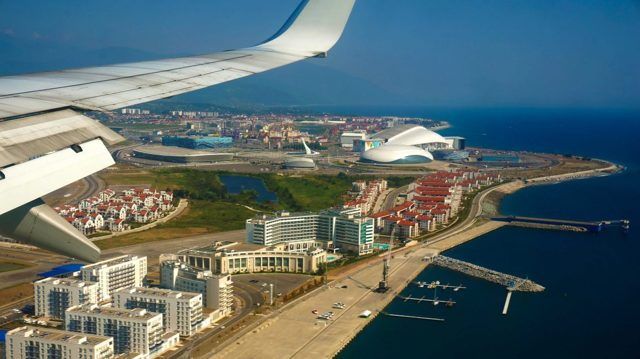 Как добраться до Абхазии на самолете из Москвы