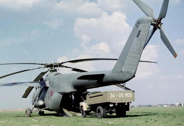 Вертолет Ми-6: фото, технические характеристики